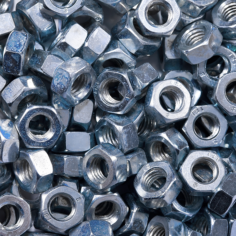 Hex Nuts – ASTM A563 Grade A&B / ASTM A194 Grade 2H Structural / Galvanized